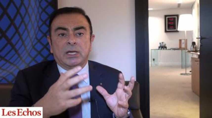 """Illustration pour la vidéo Carlos Ghosn (Renault) : """"Le premium est une opportunité pour Renault"""""""