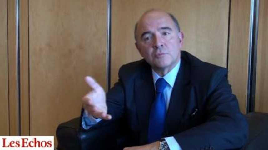 """Illustration pour la vidéo Entreprises : Pierre Moscovici appelle """"à la paix des braves"""""""