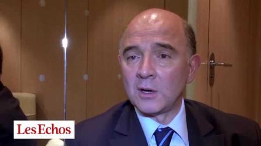 """Illustration pour la vidéo Pierre Moscovici : """"Les talents de Bercy doivent jouer collectif"""""""