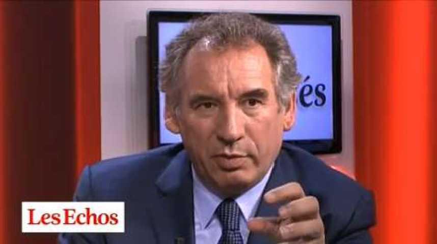 """Illustration pour la vidéo François Bayrou : """"Le gouvernement est un attelage impossible"""""""