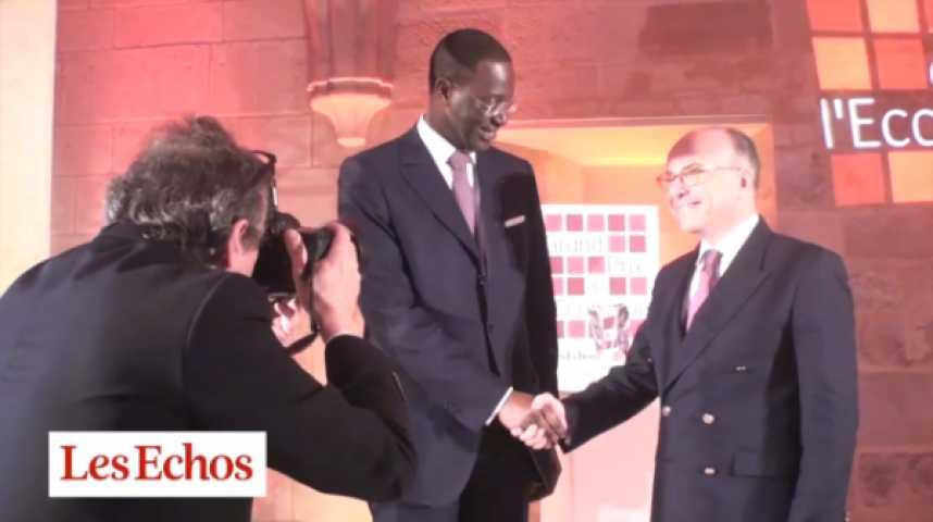 """Illustration pour la vidéo Le """"Grand Prix de l'Economie"""" à Tidjane Thiam : les réactions des invités"""