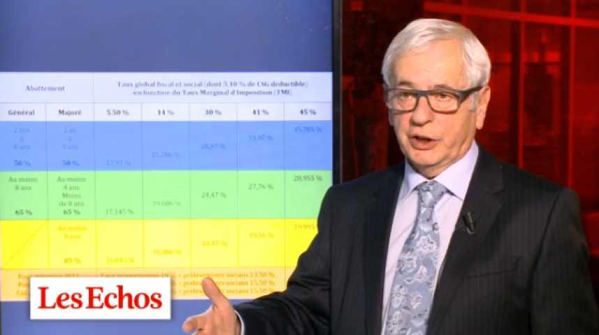 Illustration pour la vidéo Fiscalité : comprendre le nouveau régime d'imposition des plus-values de valeurs mobilières