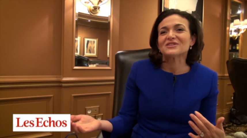 """Illustration pour la vidéo Sheryl Sandberg : """"Facebook permet un marketing personnalisé"""""""