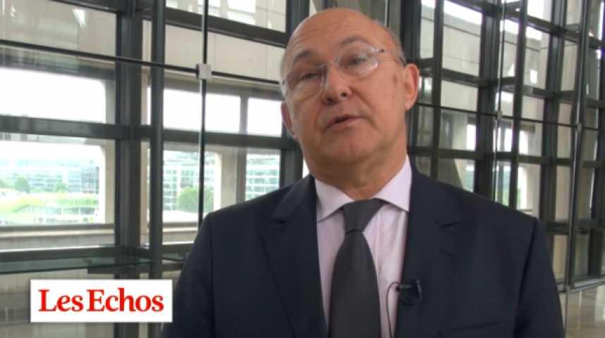 """Illustration pour la vidéo Michel Sapin : """"La Commission européenne s'est montrée compréhensive"""""""