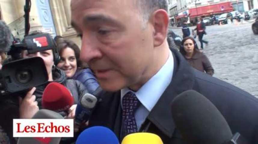 """Illustration pour la vidéo Pierre Moscovici : """"Pendant la campagne présidentielle, tous les jours nous suivions les dépenses"""""""