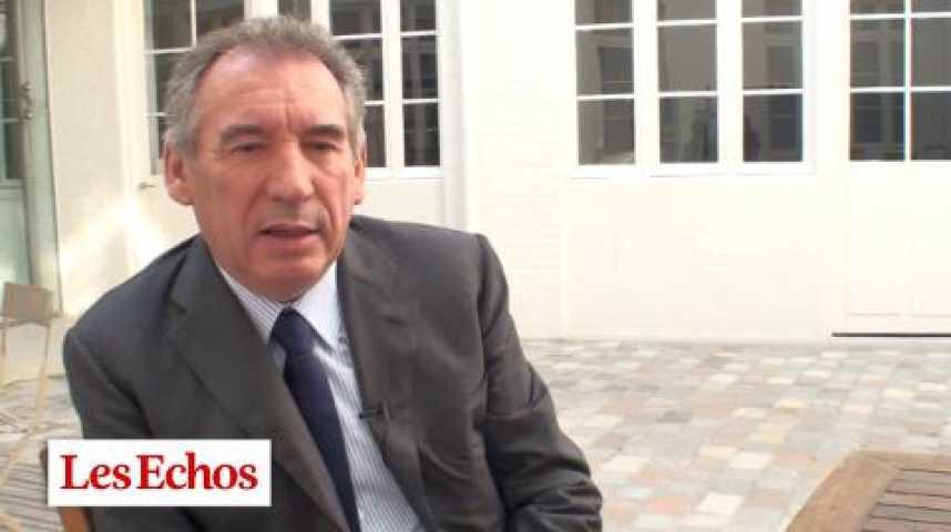 """Illustration pour la vidéo F. Bayrou : """"Ceux qui conçoivent la politique fiscale font preuve d'improvisation"""""""
