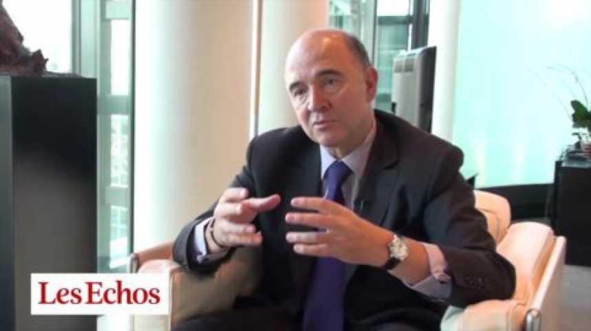 """Illustration pour la vidéo Pierre Moscovici : """"Ne nous abritons pas derrière l'euro"""""""