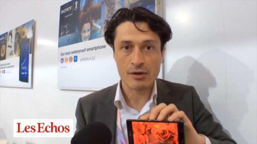 """Illustration pour la vidéo Sony Mobile : """"On a réussi notre pari de revenir sur le haut de gamme"""""""