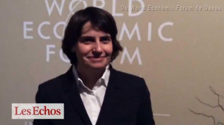 Illustration pour la vidéo En direct de Davos : Hélène Rey (London Business School) réagit aux décisions de la BCE