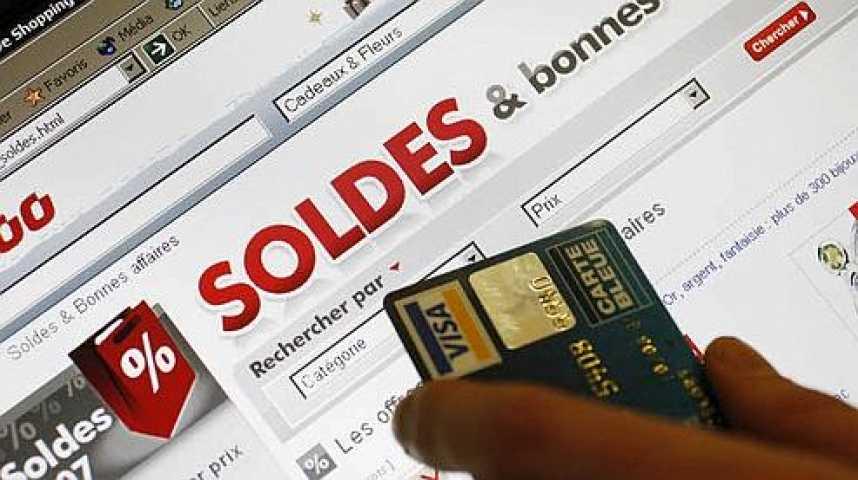 Illustration pour la vidéo Soldes sur Internet : gare aux contrefaçons !