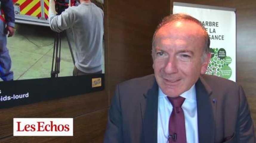 """Illustration pour la vidéo """"Pragmatisme et lucidité"""" : Pierre Gattaz (Medef) salue le rapport Combrexelle"""