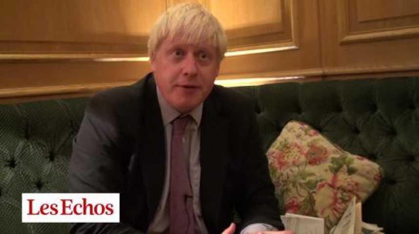 """Illustration pour la vidéo Boris Johnson : """"Paris a toutes ses chances pour les JO de 2024"""""""