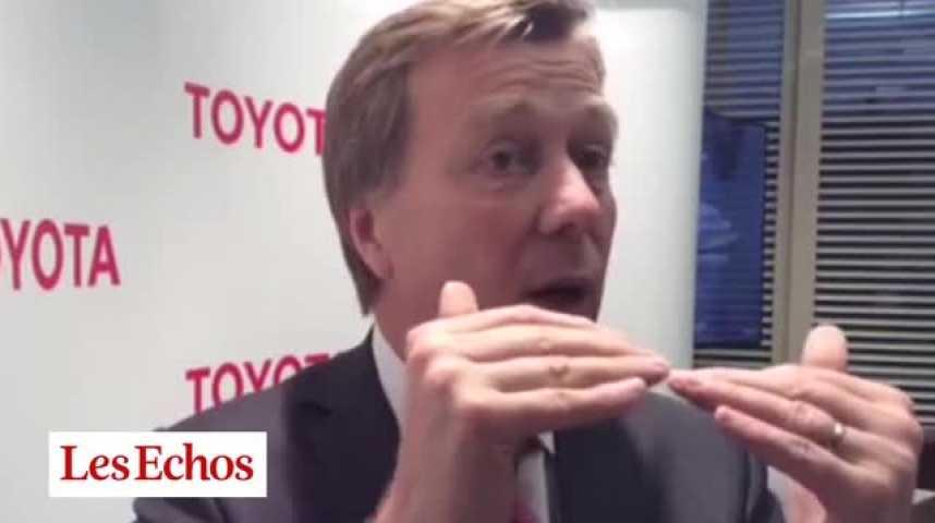 Illustration pour la vidéo Didier Leroy, vice-président de Toyota