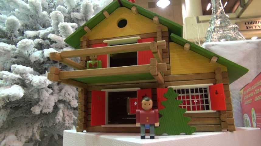 Illustration pour la vidéo Le jouet français en campagne pour Noël