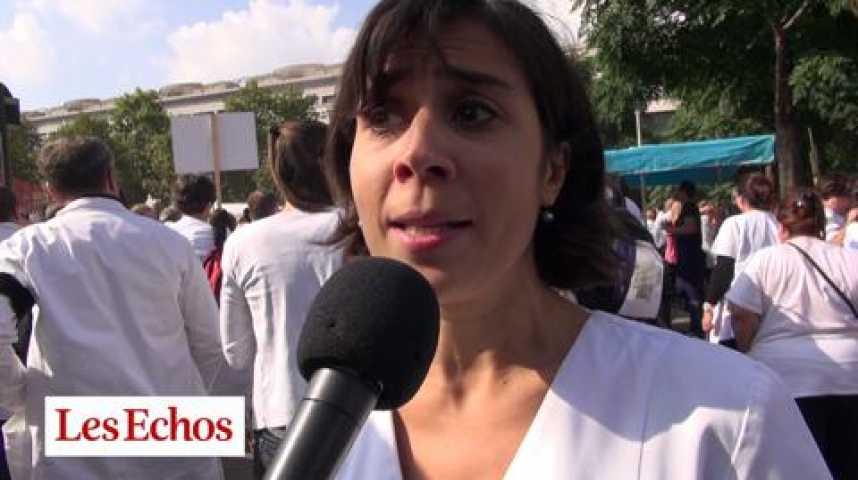 Illustration pour la vidéo C.Cheret (pharmacienne) : « Non aux fonds de pension dans les pharmacies »