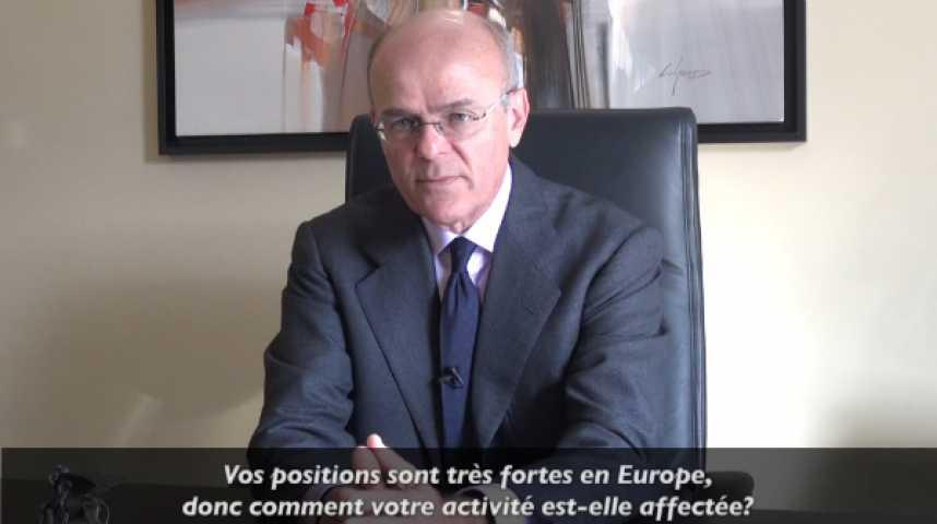 """Illustration pour la vidéo M. Greco (Generali) : """"Nous n'avons aucune intention de réduire la voilure en Europe"""""""
