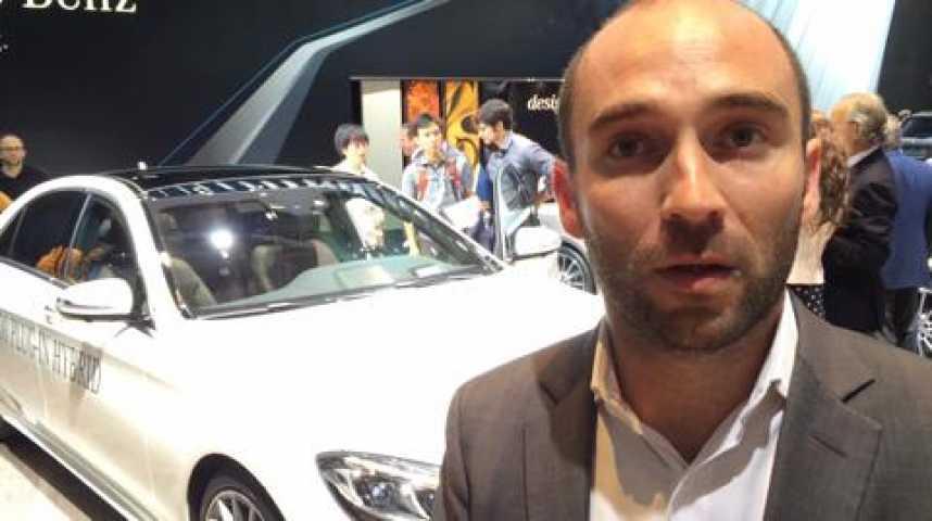 """Illustration pour la vidéo Mercedes: """"Un quart de nos ventes de classe S sont hybrides"""""""