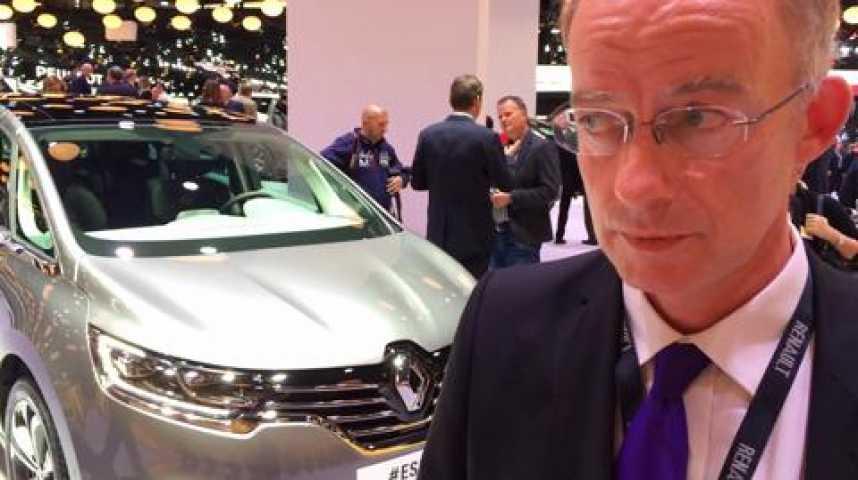 """Illustration pour la vidéo Renault: """"La nouvelle Espace, un cross-over à la croisée d'une berline, d'un SUV et d'un monospace"""""""