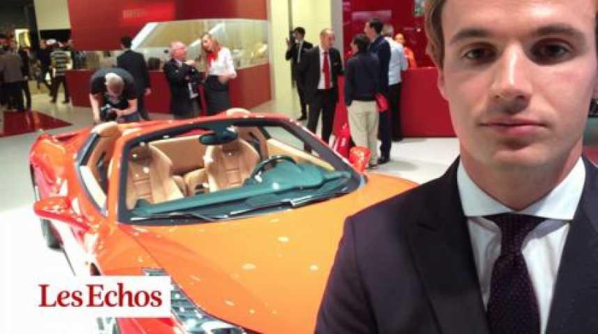 Illustration pour la vidéo J.Huet (Ferrari) « Notre stratégie de réduction des volumes paie »