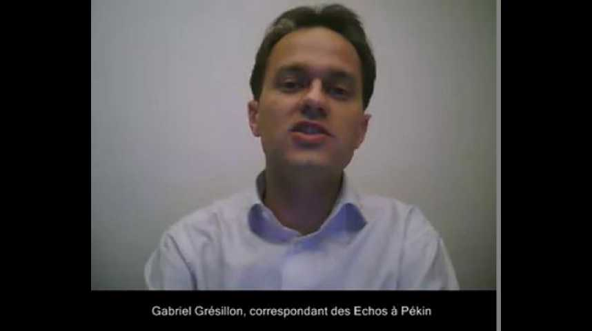 Illustration pour la vidéo La visite de Nicolas Sarkozy vue de Pékin