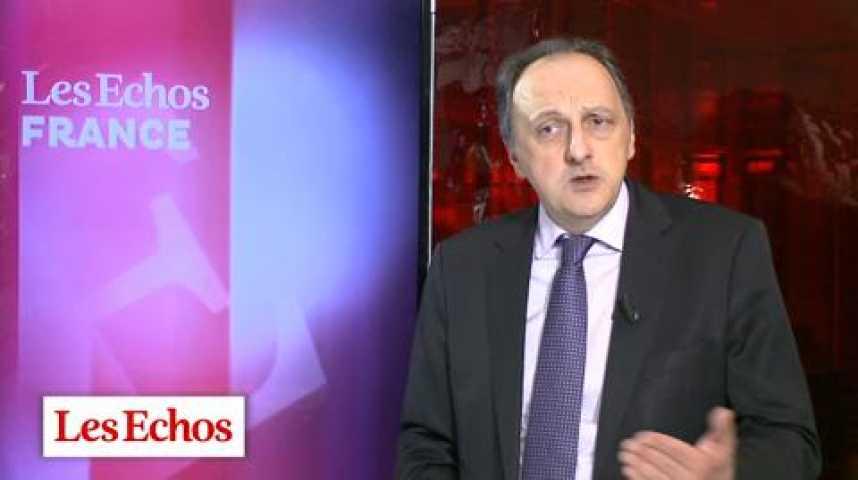 Illustration pour la vidéo Cote de confiance : François Hollande efface une année de chute