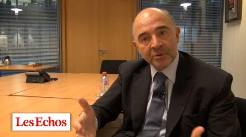 """Illustration pour la vidéo Pierre Moscovici : """"Il faut flécher l'épargne européenne vers l'investissement"""""""
