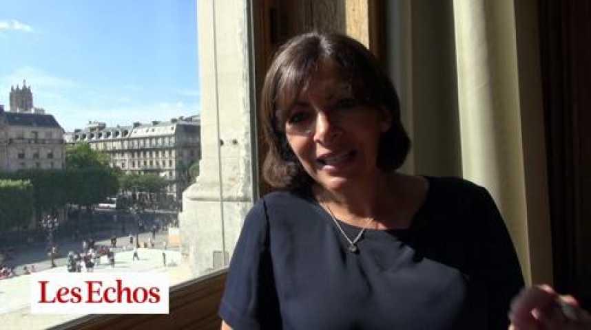 Illustration pour la vidéo Anne Hidalgo : « Construction de logements : une décote ciblée pour acheter des terrains de l'Etat »