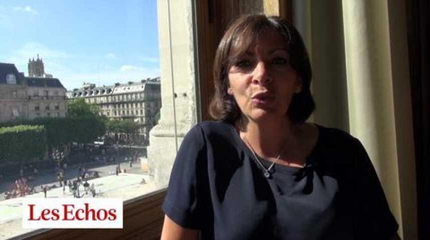 Illustration pour la vidéo Anne Hidalgo : « J'ai réduit le nombre d'adjoints, de cabinets, de collaborateurs »