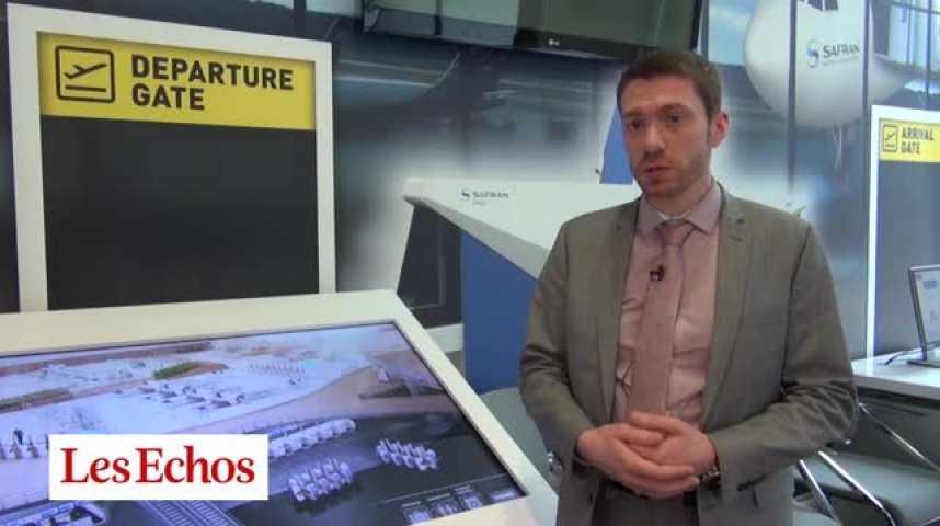 Illustration pour la vidéo Morpho Safran Aéroport
