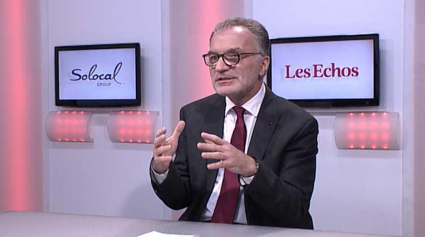 """Illustration pour la vidéo Dominique Marcel: """"La Compagnie des Alpes est ouverte à des prises de participation étrangères"""""""
