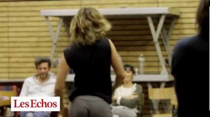 """Illustration pour la vidéo """"Roller Girl"""", Cécile de France campe """"Anna"""", opéra pshyché-rock de Gainsbourg"""