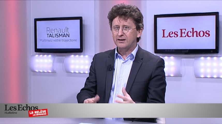 """Illustration pour la vidéo Nicolas Barré: """"La Relève est le reflet d'une économie qui bouge"""""""