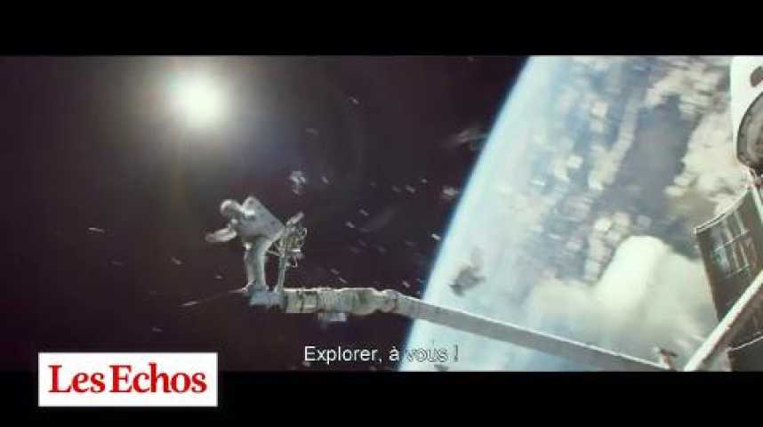 Illustration pour la vidéo Gravity : Allo Houston, on a un film culte !