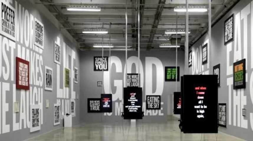 Illustration pour la vidéo John Giorno en mots et en images :  une exceptionnelle exposition au Palais de Tokyo