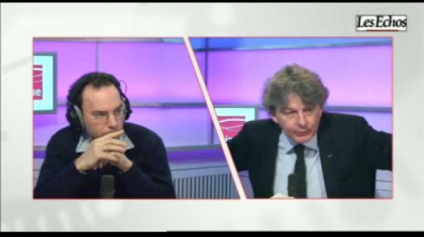 Illustration pour la vidéo L'invité de l'Economie : Thierry Breton, Président directeur général d'Atos