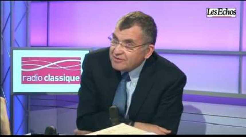 Illustration pour la vidéo L'invité de l'économie : Xavier Fontanet (ancien DG d'Essilor)