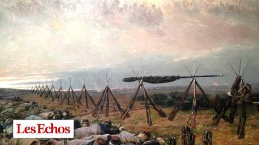 Illustration pour la vidéo La guerre et ses désastres en grand au Louvre Lens