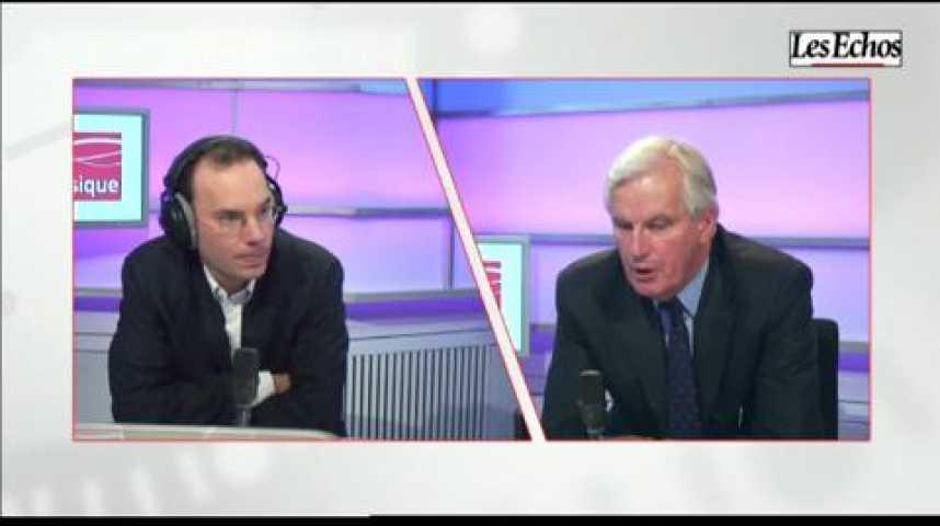 Illustration pour la vidéo L'invité business : Michel Barnier (UMP)