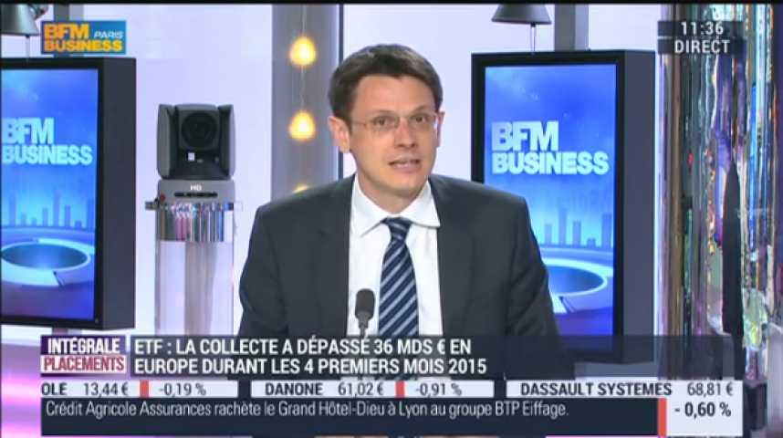 Illustration pour la vidéo Optimiser ses portefeuilles avec des Trackers. La chronique de François Monnier sur BFM Business du 12 juin 2015