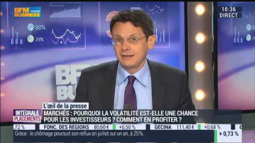 Illustration pour la vidéo Faut-il avoir peur de la volatilité ?