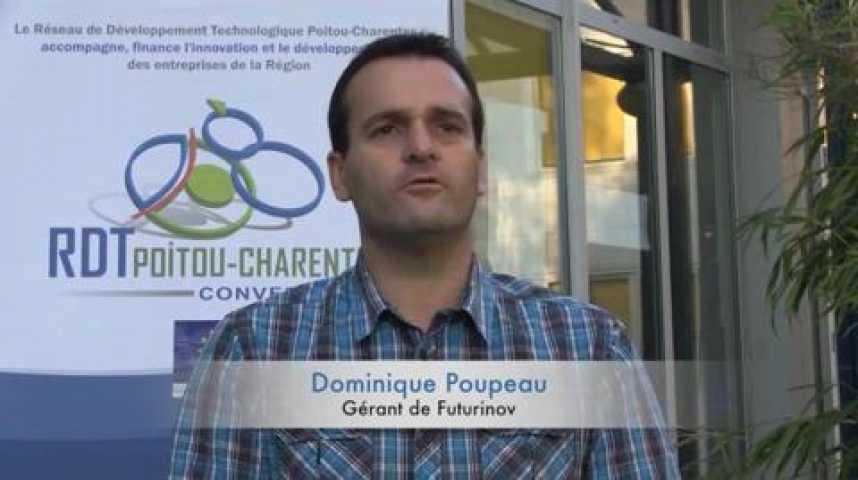 Illustration pour la vidéo Dominique Poupeau, créateur de Futurinov.