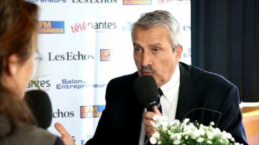 Illustration pour la vidéo Francois Hurel,  Président - Union des Auto-Entrepreneurs