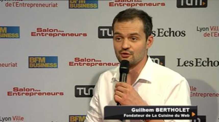 Illustration pour la vidéo Guilhem Bertholet, Fondateur de La Cuisine du Web