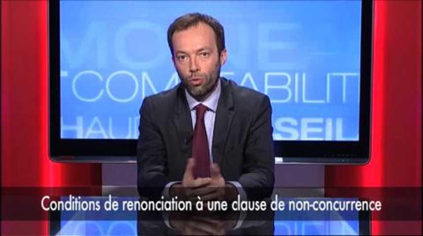 """Illustration pour la vidéo Laurent Gamet : """"Clause de non-concurrence et contrat de travail"""""""