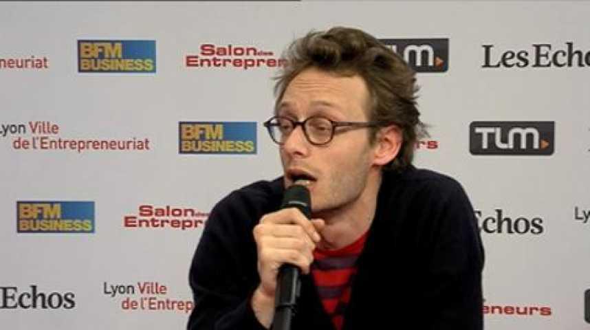Illustration pour la vidéo Adrien Aumont, CEO et Co-Fondateur de KissKissBankBank