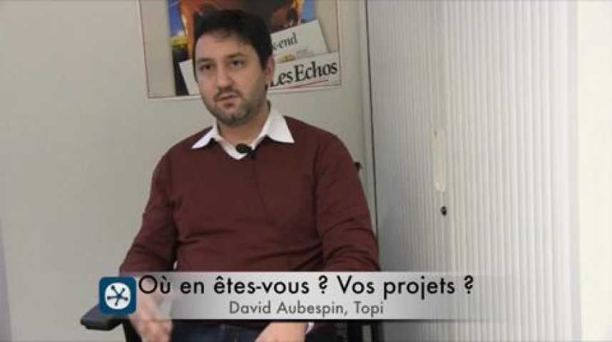 Illustration pour la vidéo David Aubespin, un Frenchy installé à New-York