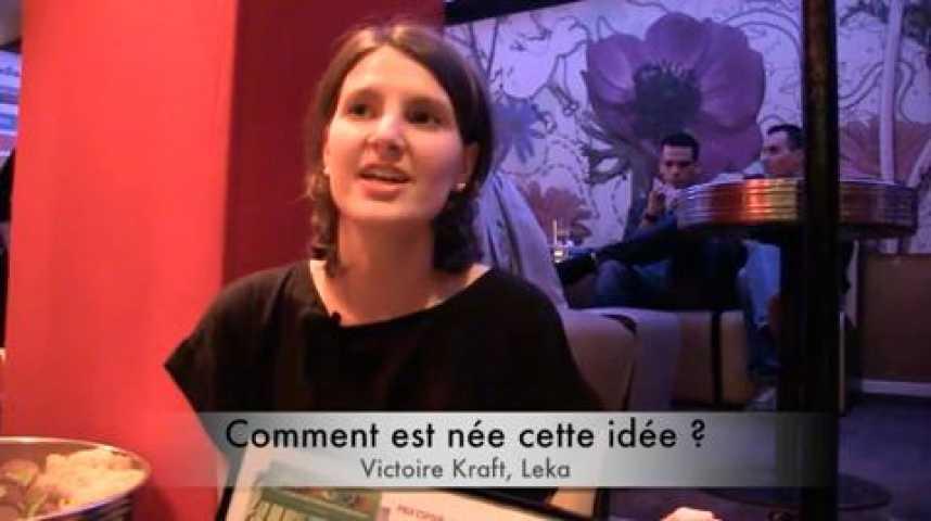 Illustration pour la vidéo Victoire Kraft, Leka, lauréate Moovjee « Mention spéciale du jury »
