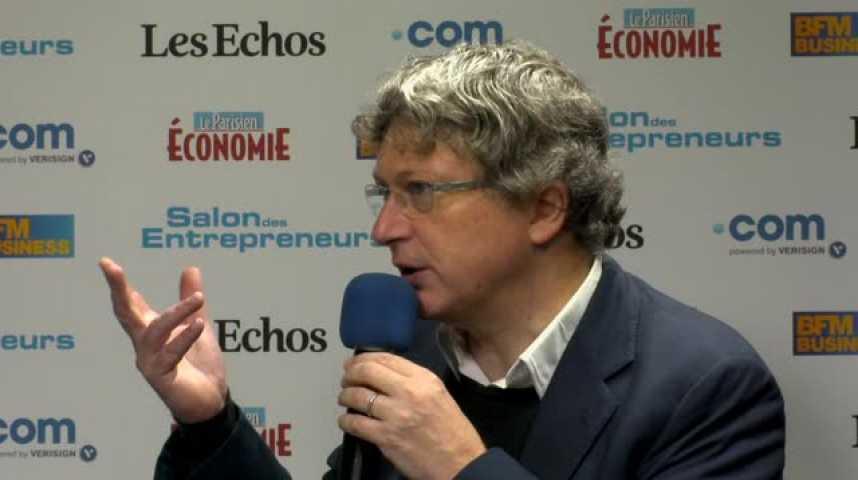 """Illustration pour la vidéo Henri Seydoux (Parrot) : """"si t'es entrepreneur, l'esprit start-up, tu ne le perds jamais"""""""