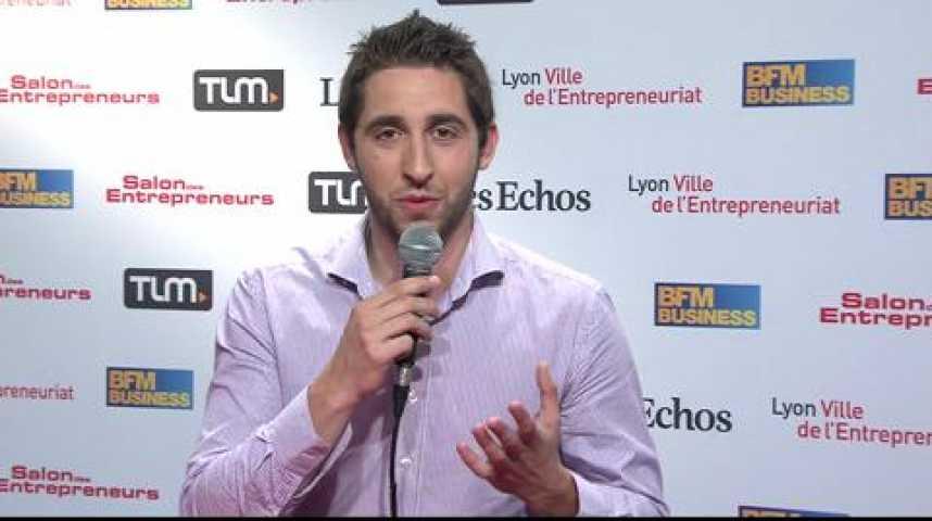 Illustration pour la vidéo Lucas Mesquita : Axeleo, l'accélérateur soutenu par la French Tech