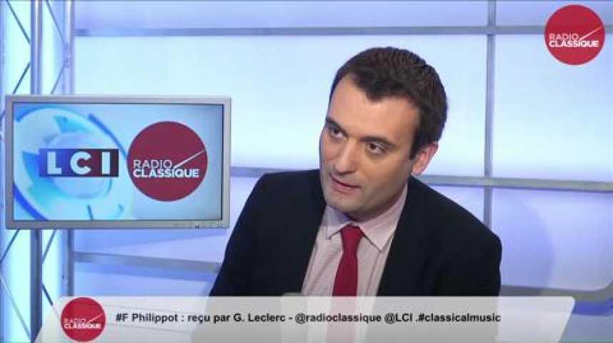 Illustration pour la vidéo Florian Philippot, fusion des listes gauche/droite: « C'est l'UMPS décomplexé »